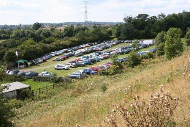 QPR Parking 2005 - As taken from M6 J3 Sliproad